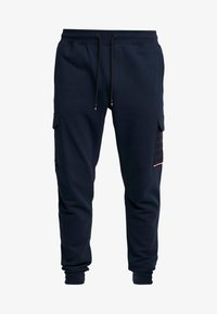 Tommy Hilfiger - MIXED MEDIA - Tracksuit bottoms - blue - 4