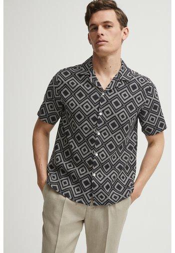 PAUL PRINT RESORT - Shirt - black print