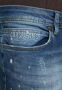 Cars Jeans - ARON - Jeansy Skinny Fit - dark used - 5