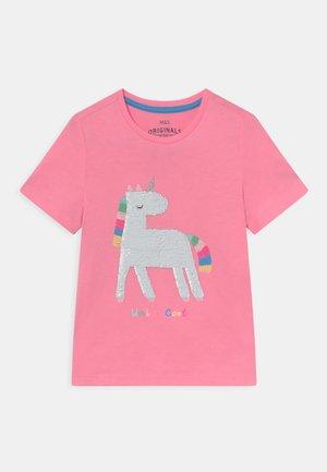 UNICORN - T-shirt z nadrukiem - pink