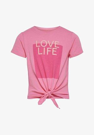T-Shirt print - aurora pink