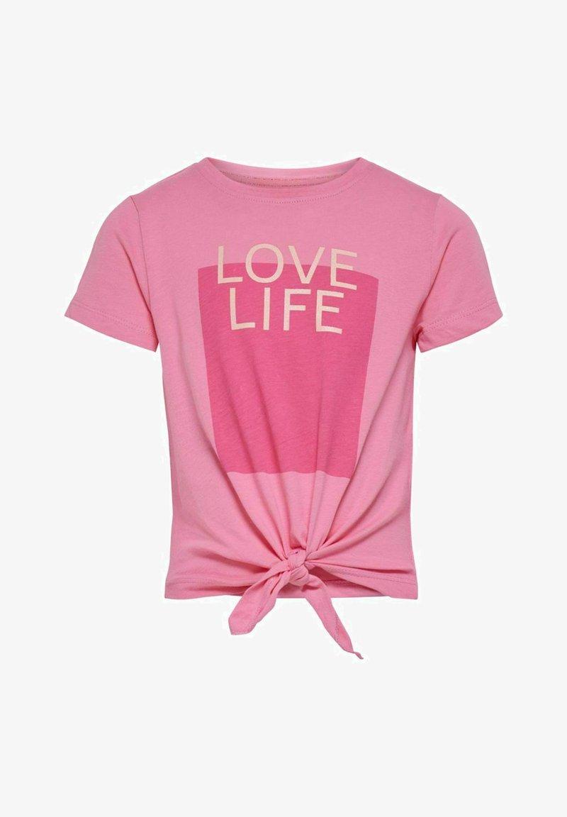 Kids ONLY - T-Shirt print - aurora pink