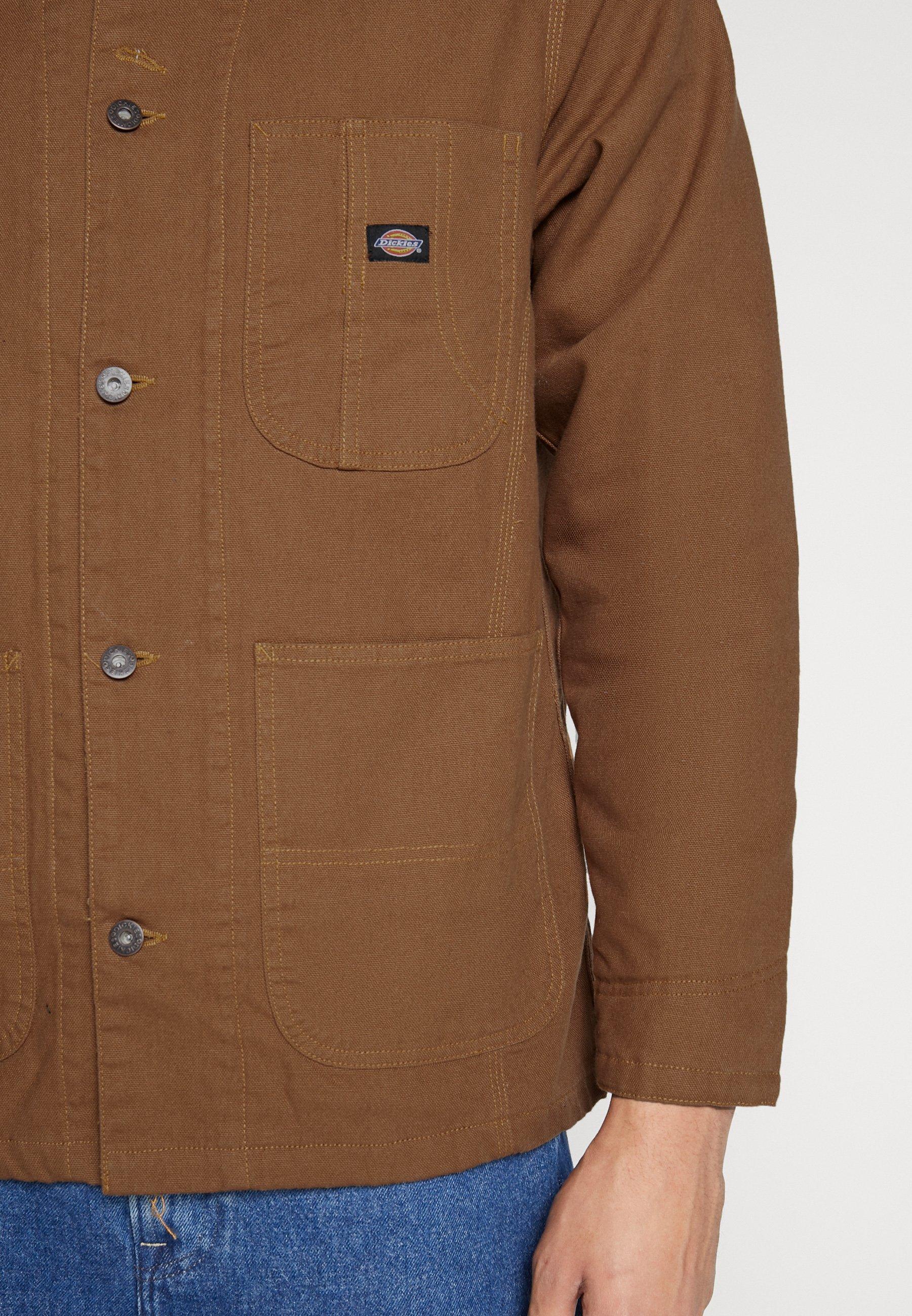 Dickies BALTIMORE JACKET Lett jakke brown duck Zalando.no