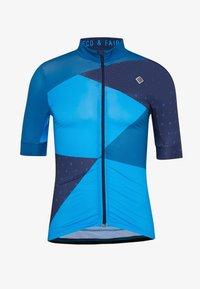 Triple2 - VELOZIP MEN - T-shirt con stampa - mykonos blue - 3