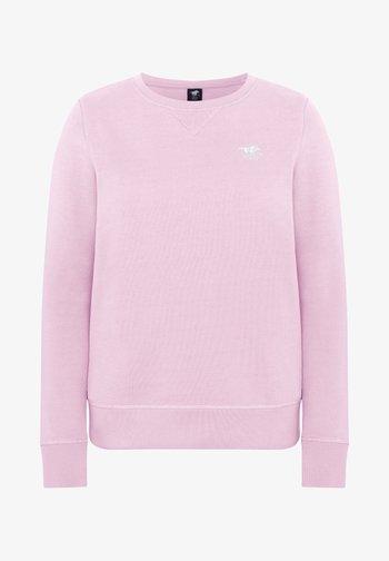 Sweatshirt - pink lady