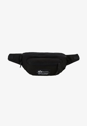 BIG WAIST BAG - Bæltetasker - black