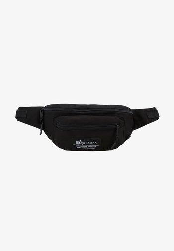 BIG WAIST BAG - Bum bag - black