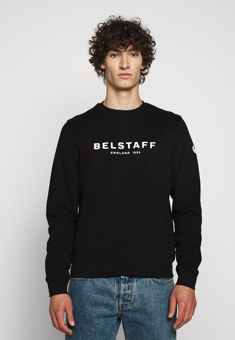 Belstaff - Sweatshirt - black/white