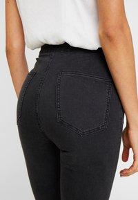 Cotton On - HIGH RISE - Skinny džíny - faded black - 4