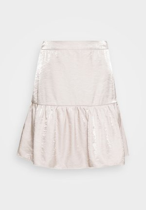 FLIPPY MINI SKIRT - Mini skirt - quartz