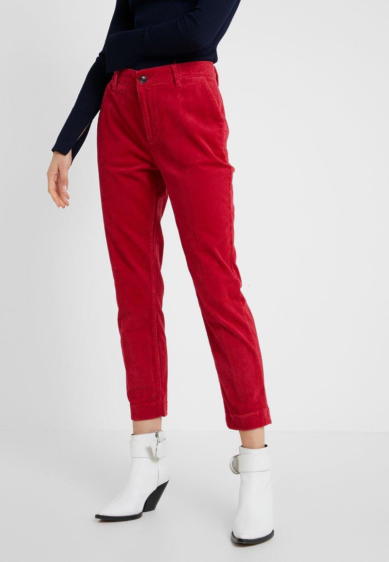 CLOSED - JACK - Kalhoty - ruby