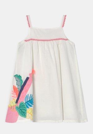 GIRAFFE DRESS - Day dress - white