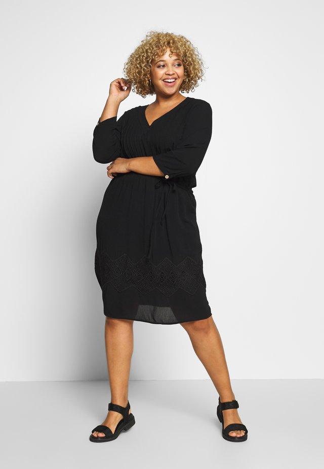 JRFLUKKA - Day dress - black