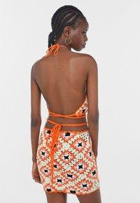 Bershka - Jumper dress - orange - 2
