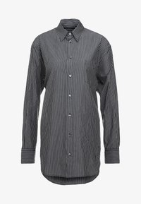 MM6 Maison Margiela - Button-down blouse - black/white - 4
