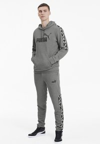 Puma - AMPLIFIED  - Hoodie - medium gray heather - 1