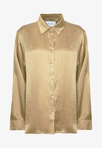 ASCENO - THE LONDON TOP - Pyjama top - antique gold - 4