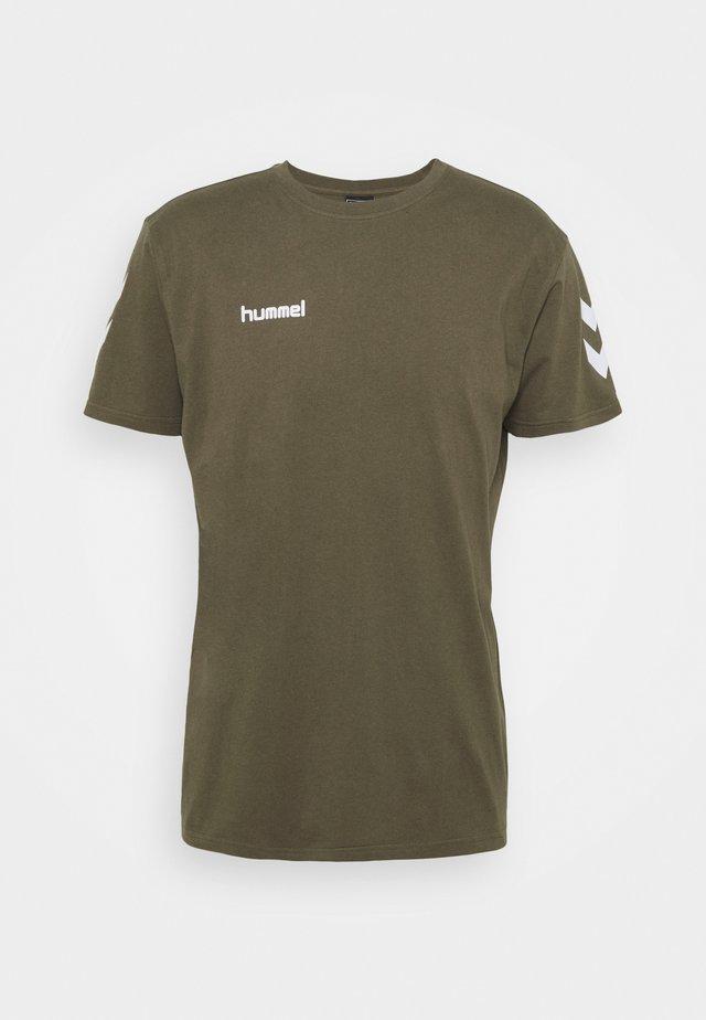 T-shirts med print - grape leaf
