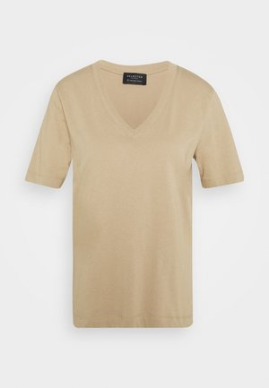 SLFSTANDARD V NECK TEE - T-shirts - tuffet