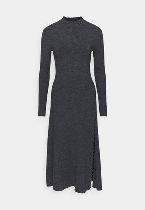 RULLY - Pletené šaty - gris