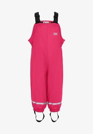 LWPUELO - Rain trousers - dark pink