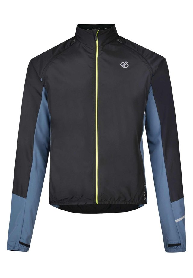 OXIDATE  - Training jacket - blk/meteorgr