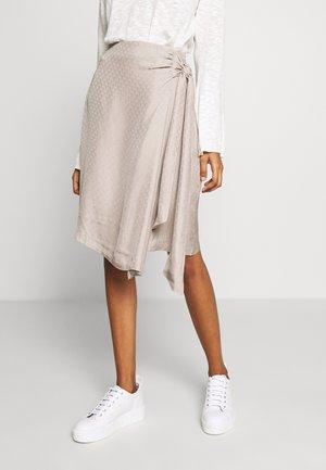 BERTIL SKIRT - A-line skirt - greige