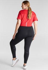 Esprit Sports - CURVY - Leggings - black - 6