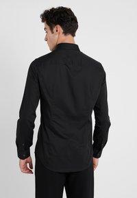 Emporio Armani - CAMICIA SLIM FIT - Camisa elegante - nero - 2