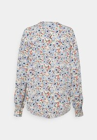 Soaked in Luxury - SLIDE BLOUSE - Button-down blouse - blue - 1