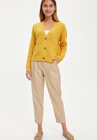 DeFacto - Cardigan - yellow - 1