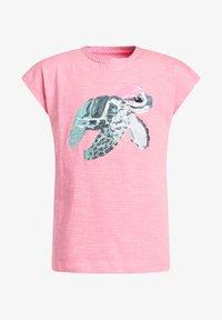 WE Fashion - Print T-shirt - pink - 3