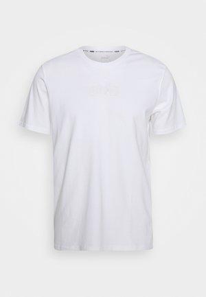 PARQUET STREET GRAPHIC TEE - Print T-shirt - white