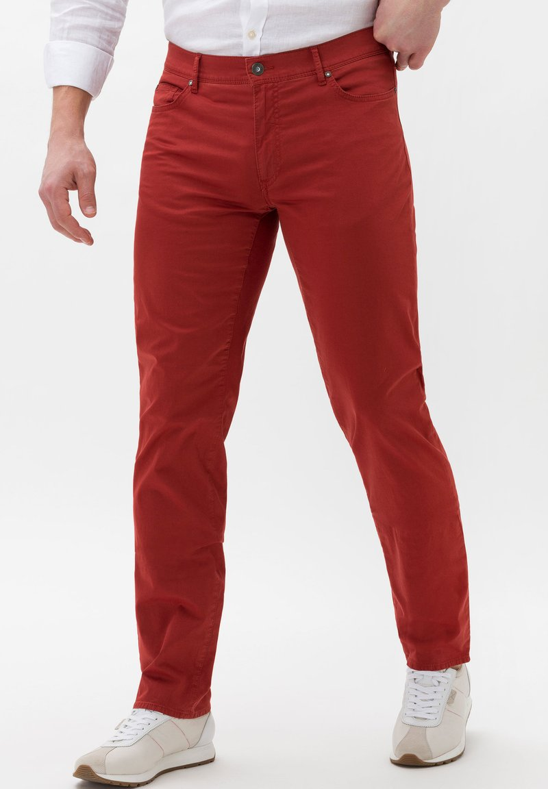 BRAX - Trousers - red