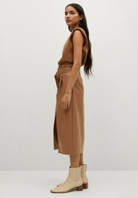 Mango - CARLO-I - Wrap skirt - marron - 4