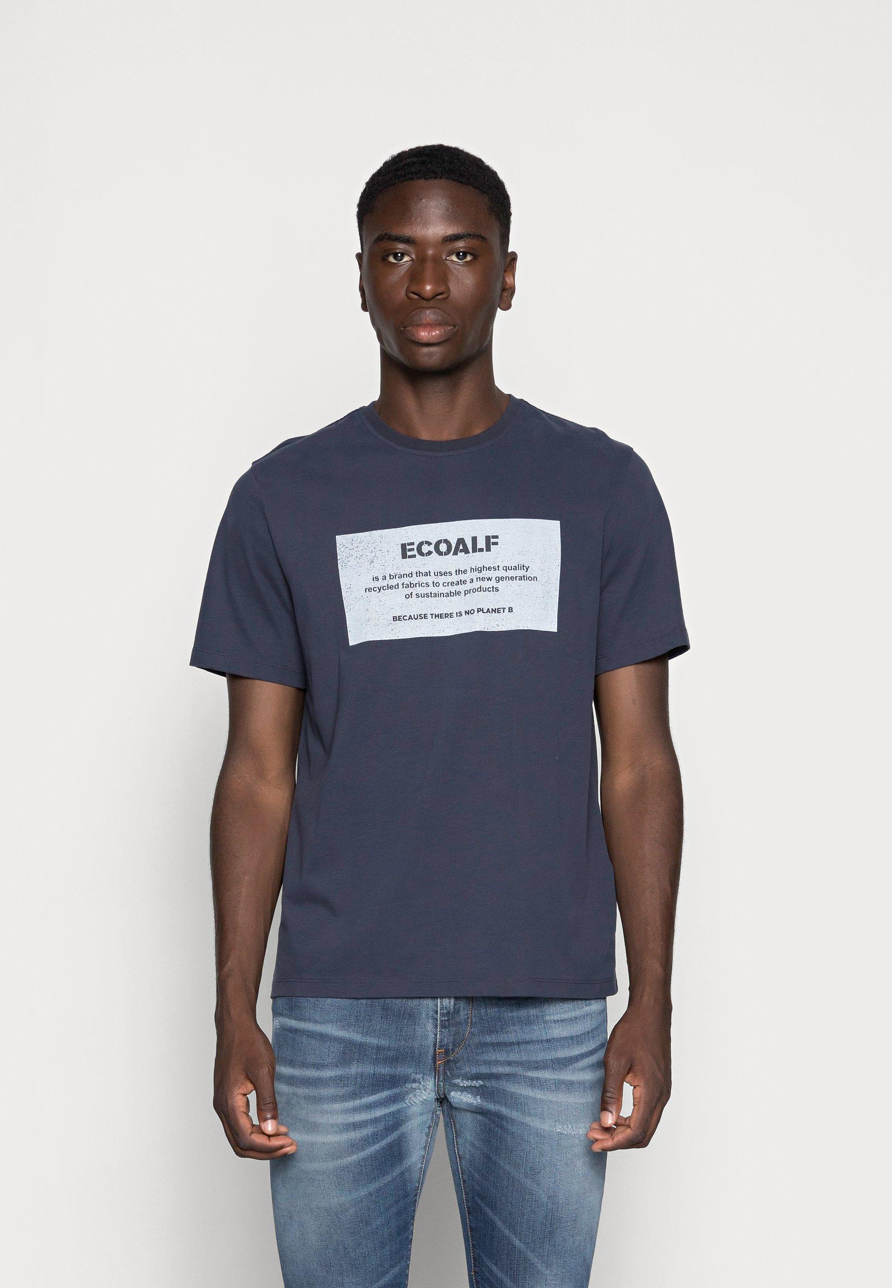 Men NEW NATALF LABEL PATCH - Print T-shirt