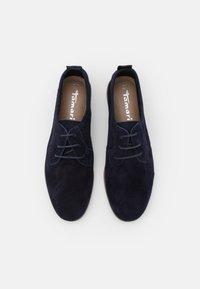 Tamaris - Šněrovací boty - navy - 5