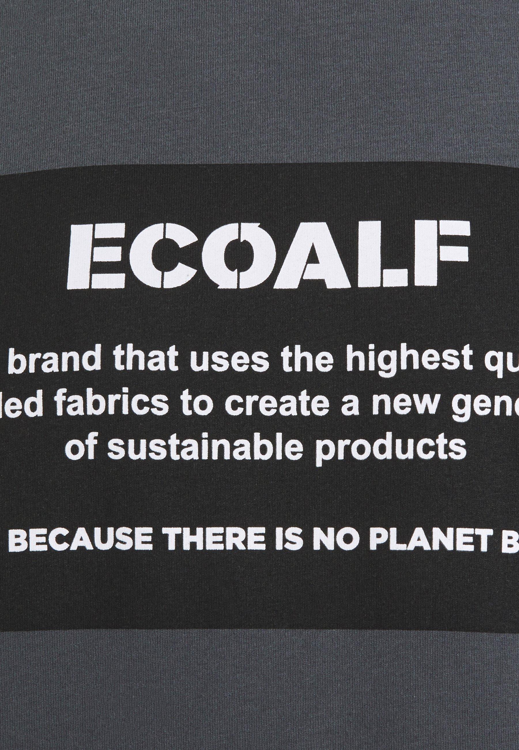 Ecoalf NATAL PATCH - Print T-shirt - caviar X8ryK