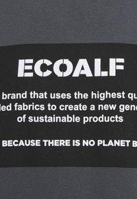 Ecoalf - NATAL PATCH - T-shirt imprimé - caviar - 2