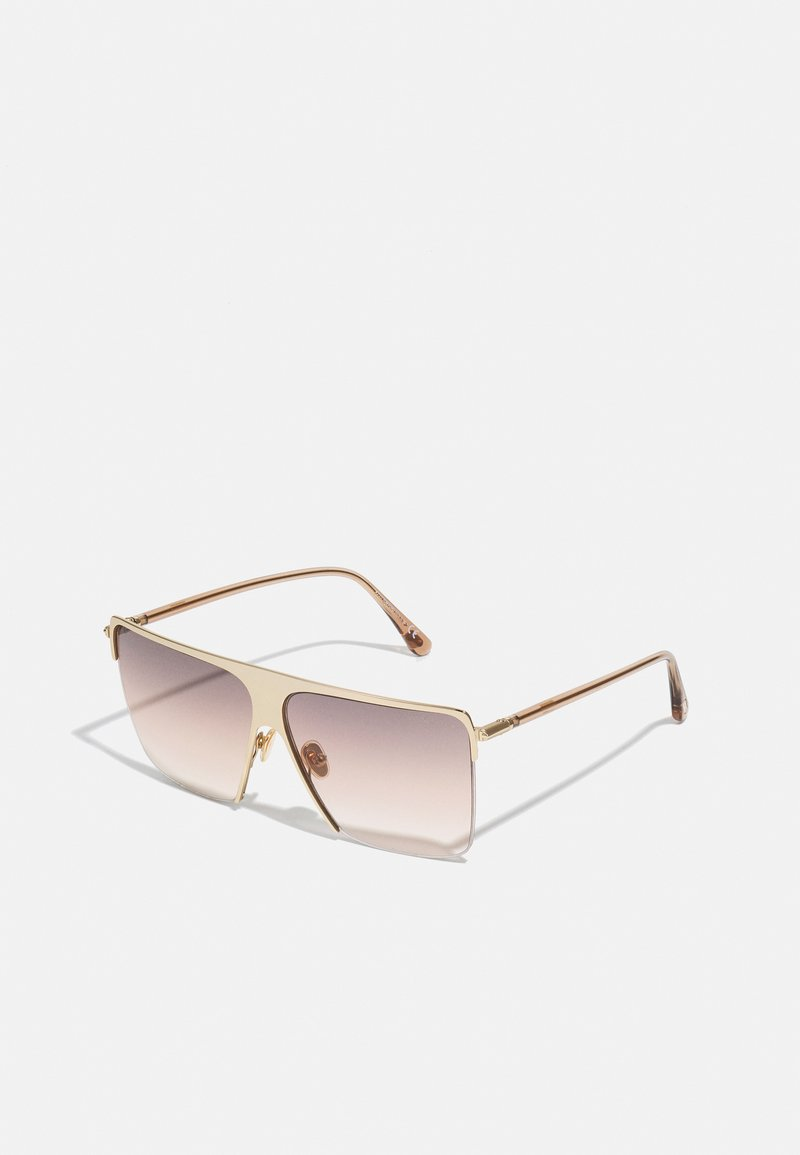 Tom Ford - UNISEX - Sunglasses - shiny rose gold-coloured/brown