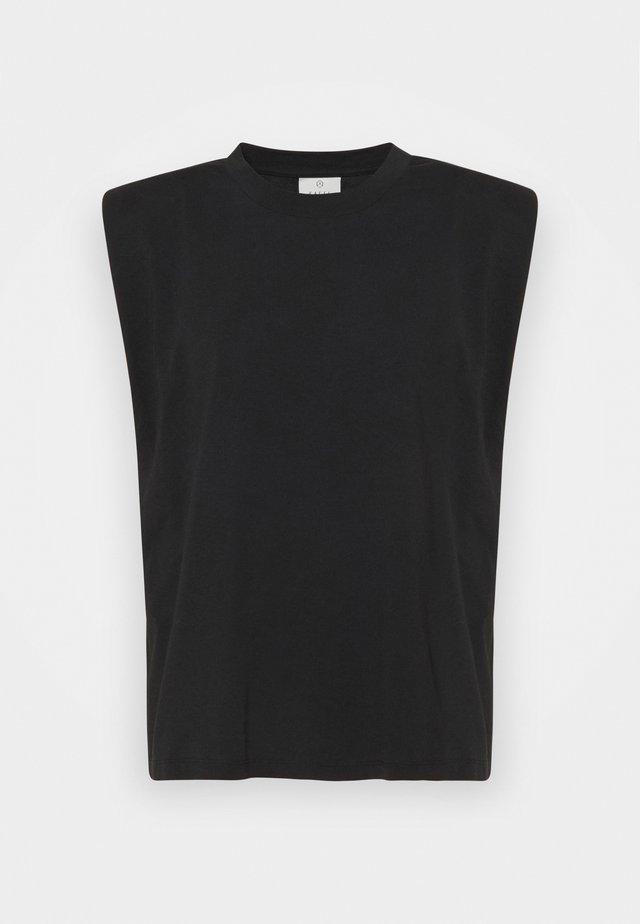 CIKA - T-shirt basic - black deep