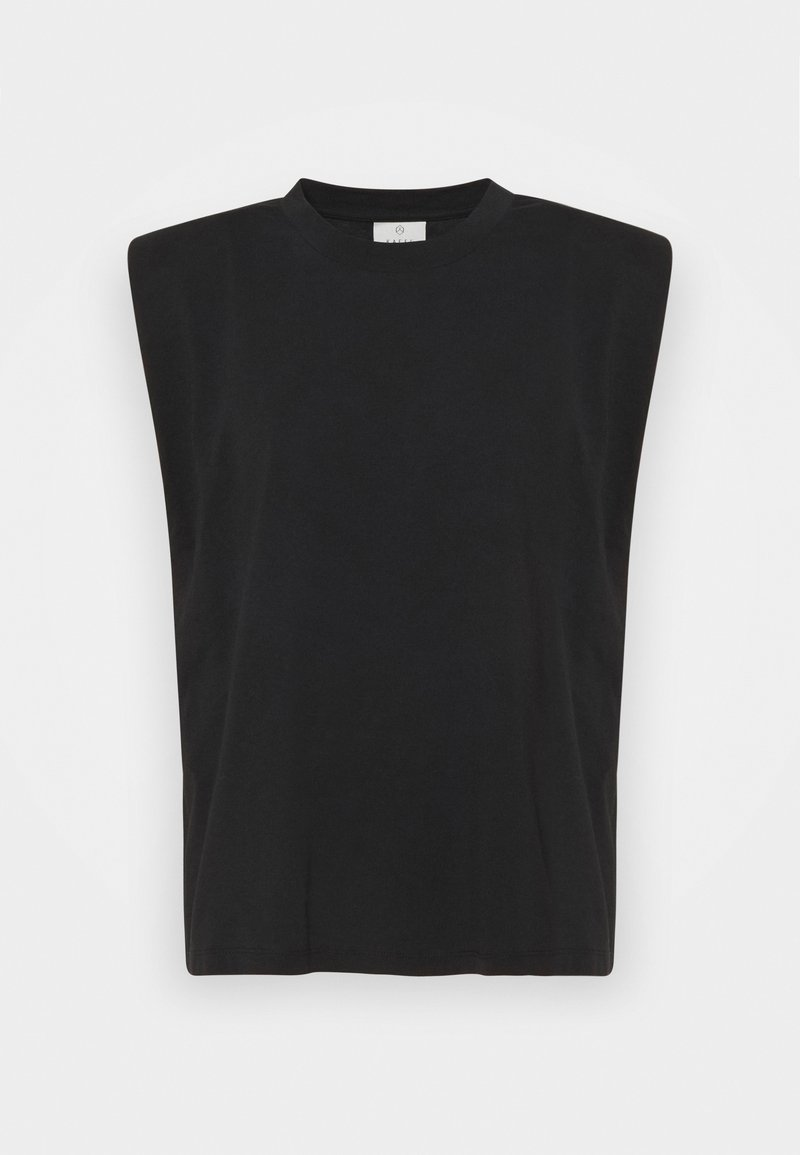 Kaffe - CIKA - Basic T-shirt - black deep