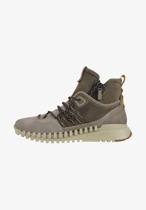 ZIPFLEX M MID - Lace-up ankle boots - warm grey