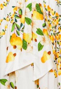 Farm Rio - CASHEW SCARF MAXI SKIRT - Maxi skirt - off white - 2