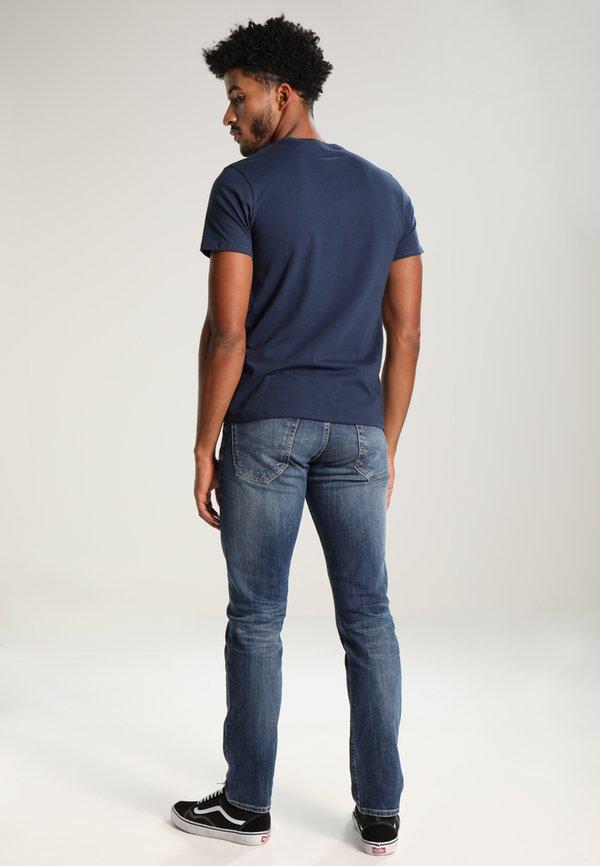 Levi's® GRAPHIC SET-IN NECK - T-shirt z nadrukiem - graphic dress blues/granatowy Odzież Męska KYIT