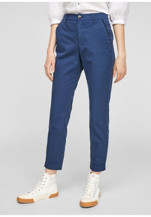 Trousers - faded blue aop