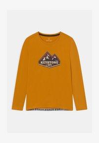 Lemon Beret - BOYS - Langærmede T-shirts - autumn blaze - 0
