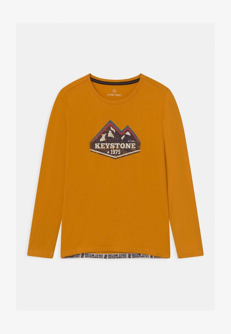 Lemon Beret - BOYS - Langærmede T-shirts - autumn blaze