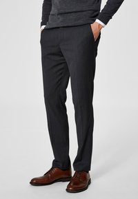 Selected Homme - Anzughose - grey - 0