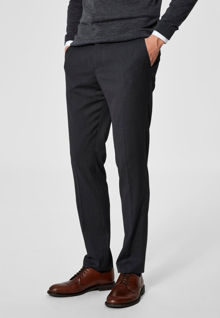 Selected Homme - Anzughose - grey
